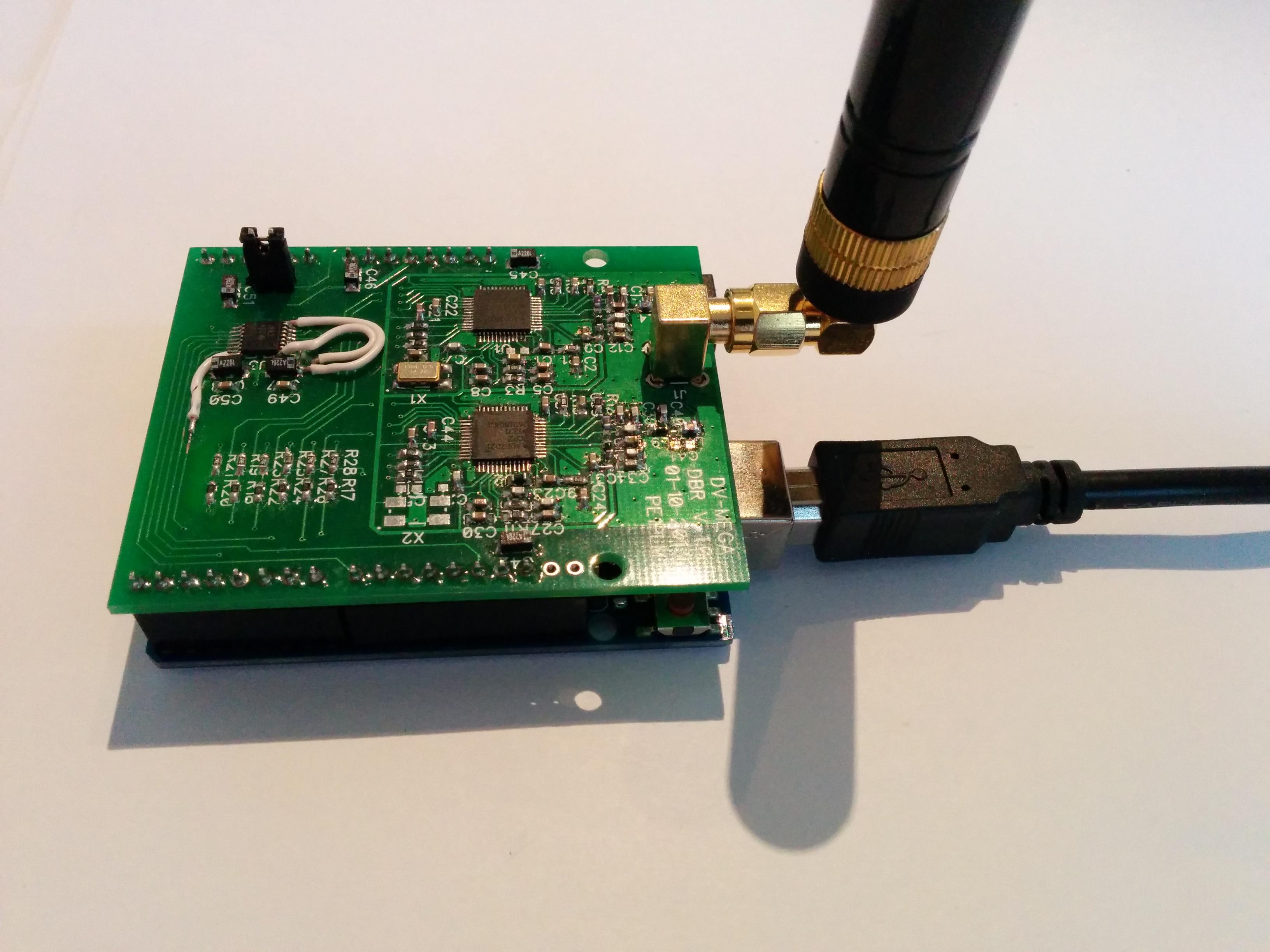 DSTAR arduino shield ( DVMEGA ) | David PA7LIM